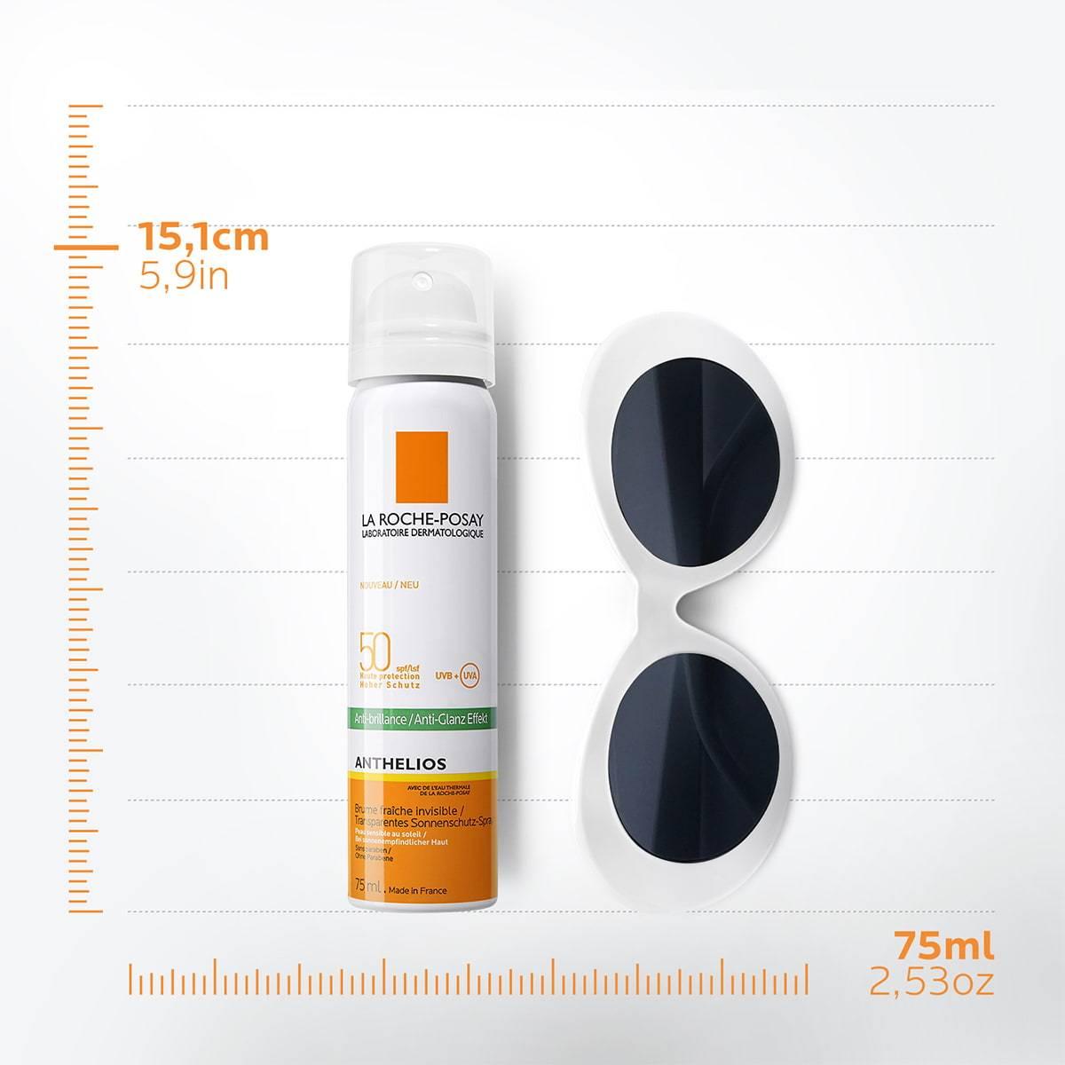 La Roche Posay ProductPage Sun Anthelios Mist Spf50 75ml 3337875549530