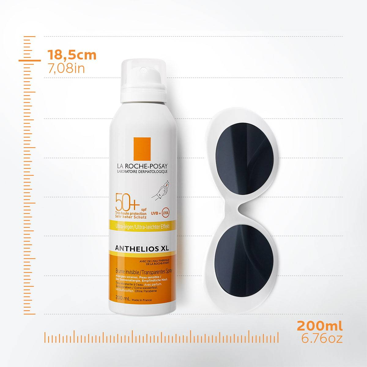 La Roche Posay ProductPage Sun Anthelios XL Invisible Mist Ultra Light