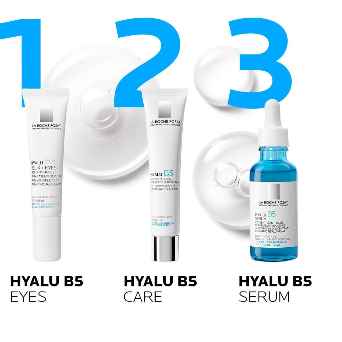 La Roche Posay ProductPage Anti Aging Hyalu B5 Serum 30ml 333787558362 routine