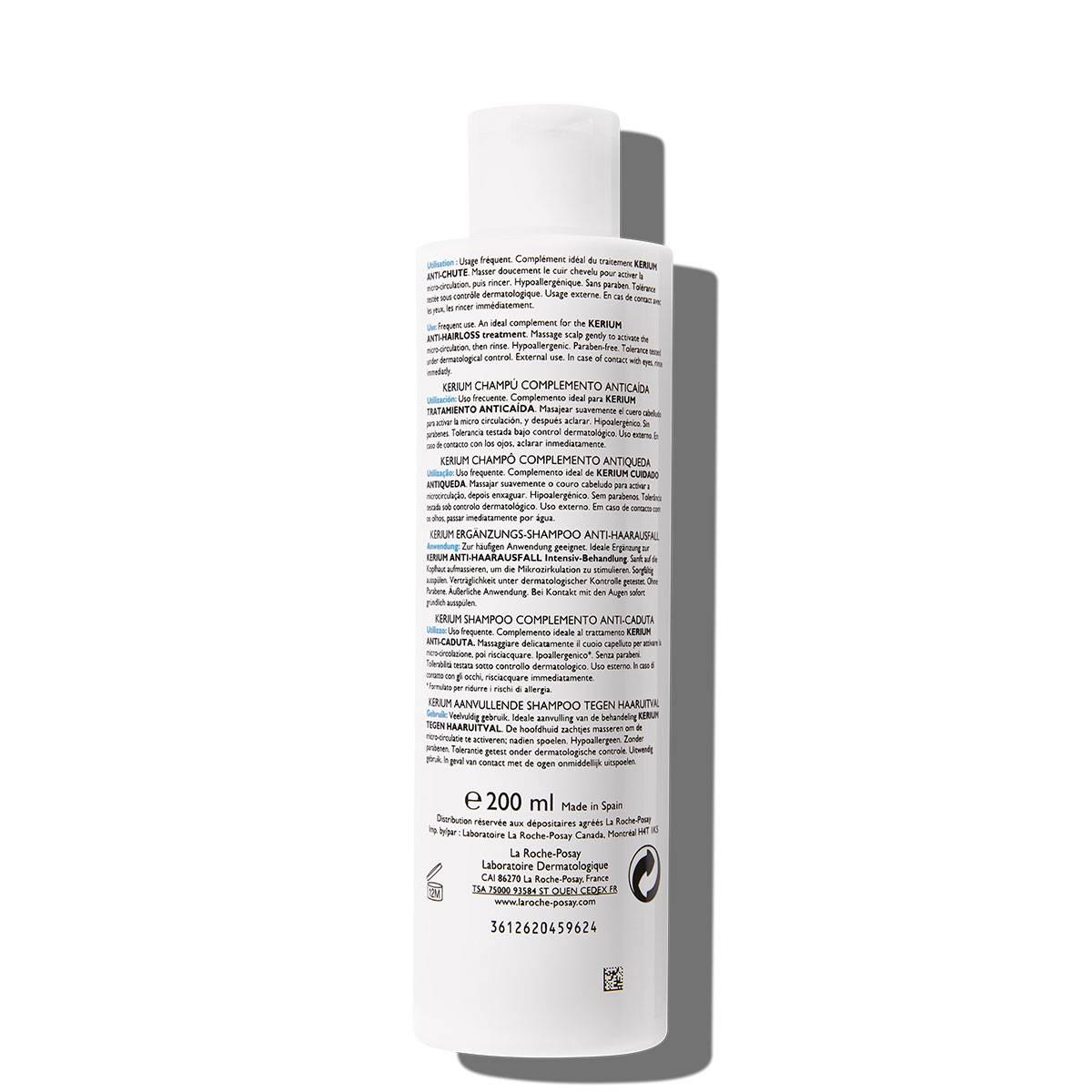 La Roche Posay ProductPage Kerium Anti Hairloss Shampoo 200ml 33378724