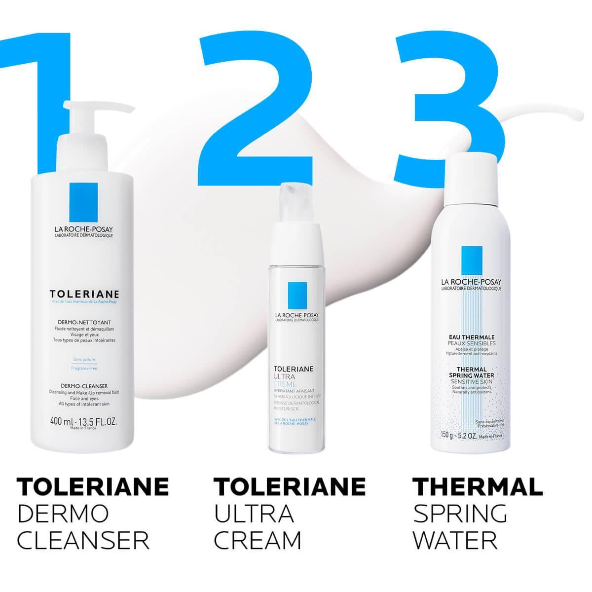 LaRochePosay-Product-Allergic-Toleriane-DermoCleanser-400ml-3337872411830-Routine